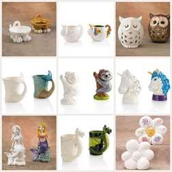 Pottery Pick & Paint