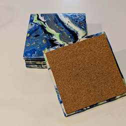 Pour Your Art Out - Coasters