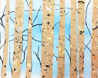 Pour Your Art Out: Flow Marble Birch