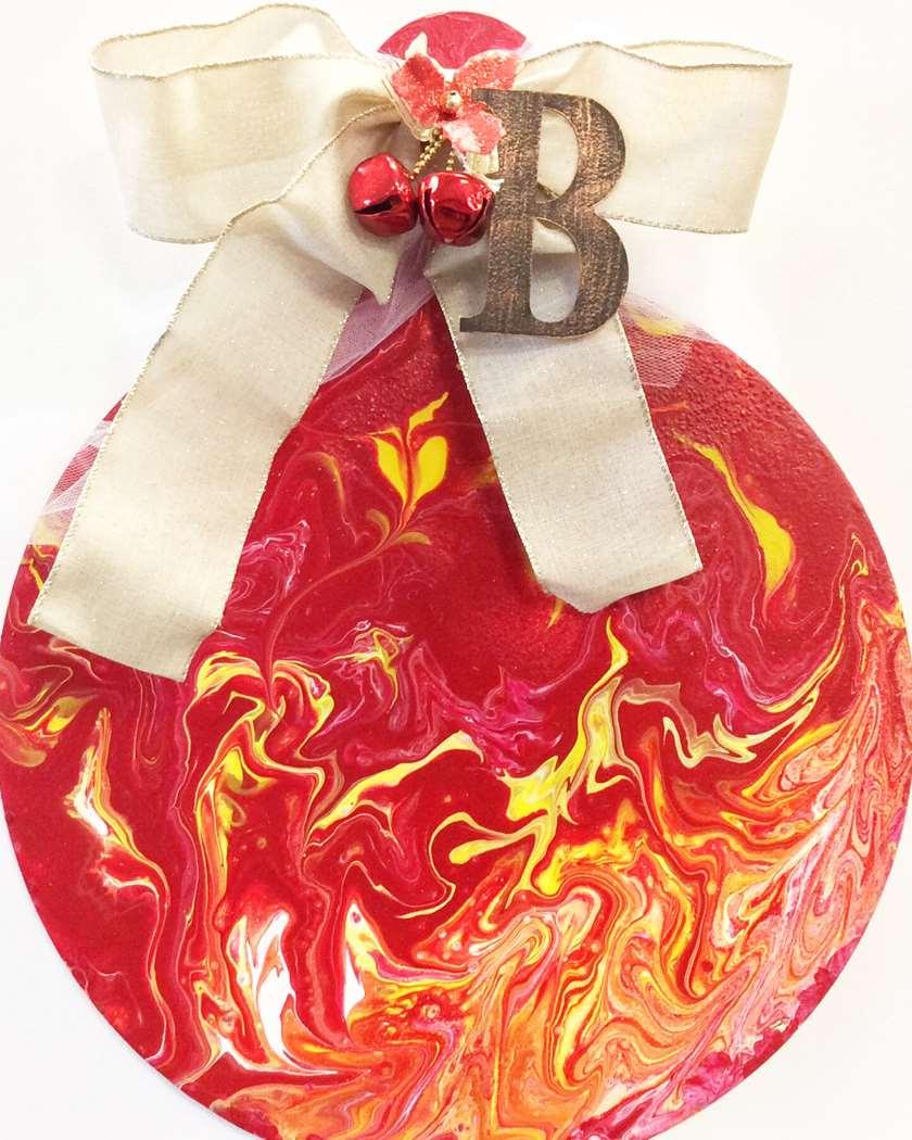 Pour Your Art Out: Ornament Doorhanger