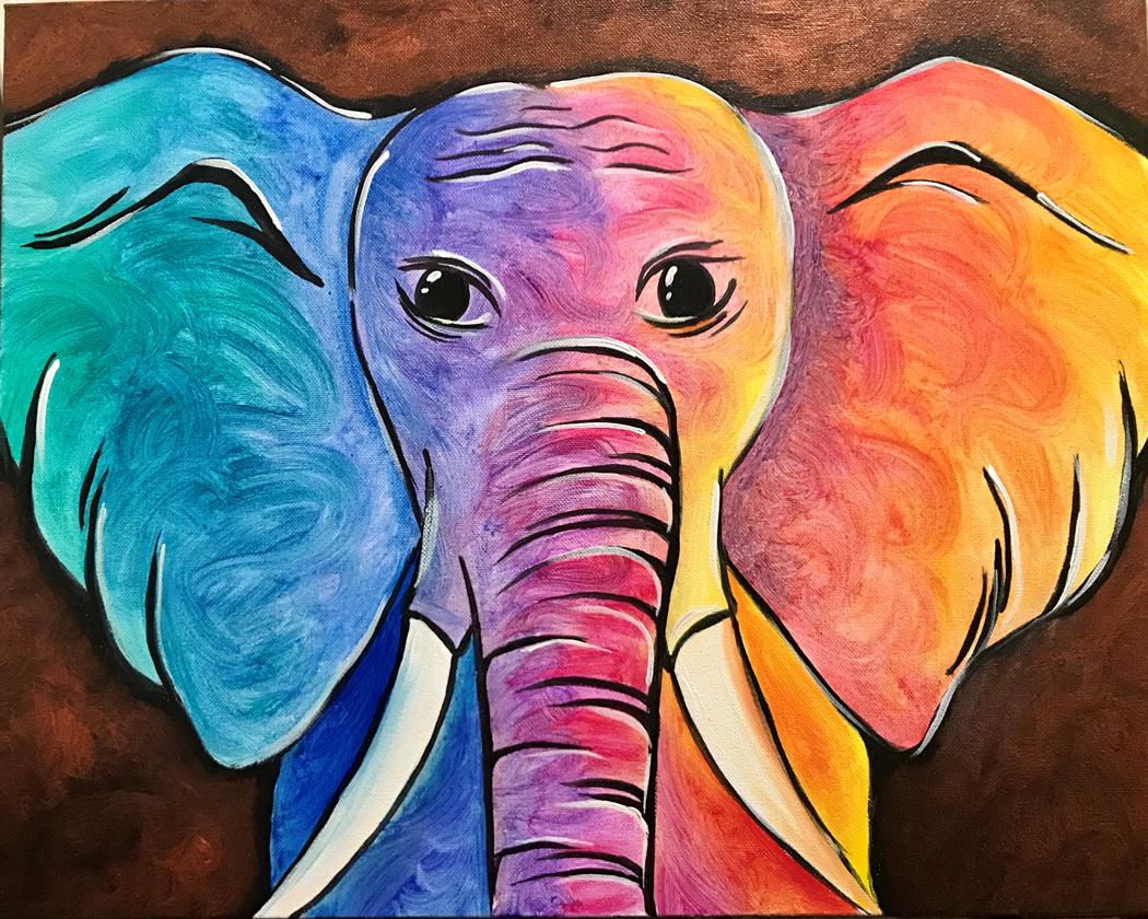 Prismatic Elephant