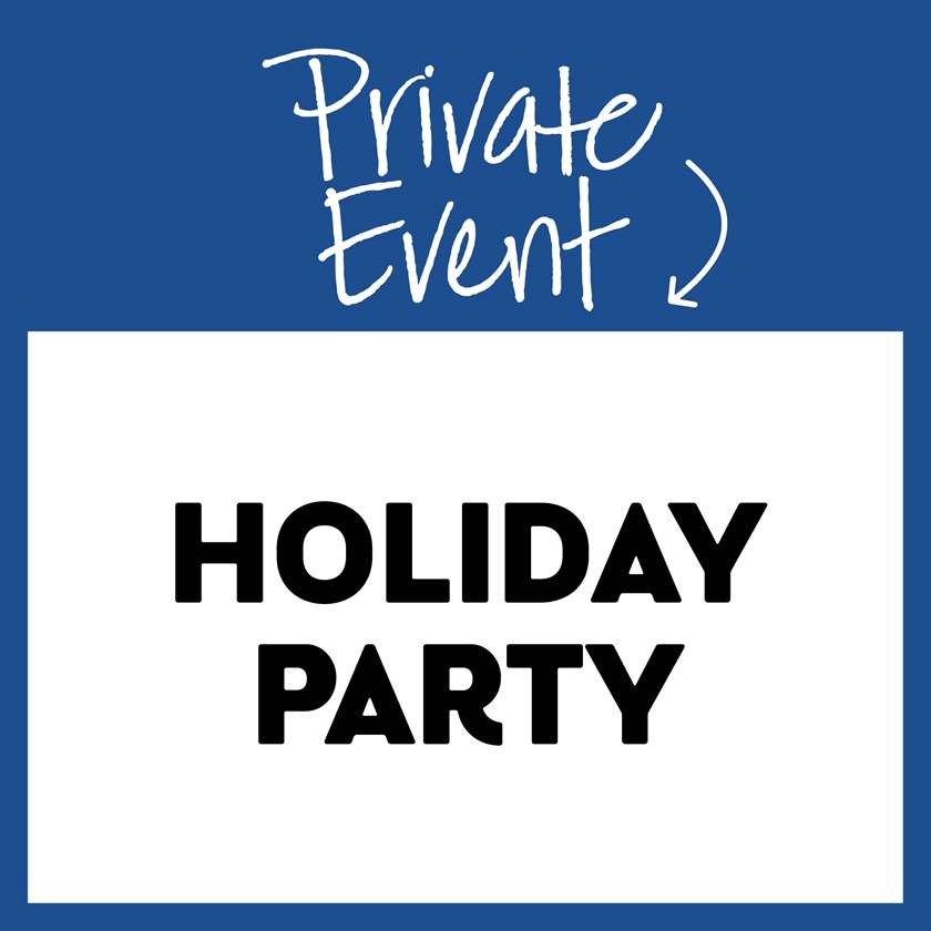 Book your personal or company holiday party now!
