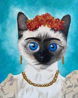 Project Pet - Frida Cat