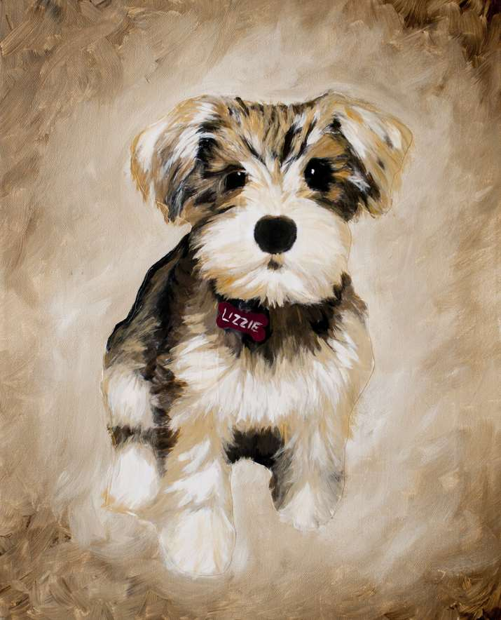 Paint a portrait of your fur baby!