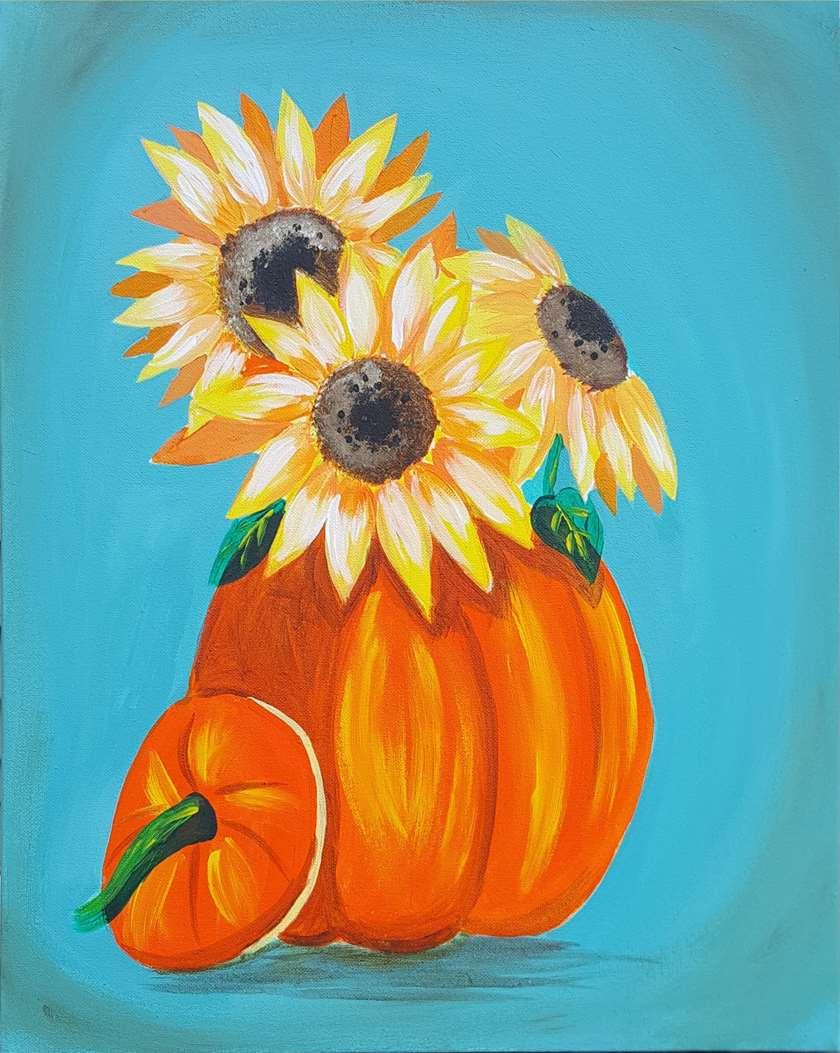 Pumpkin Full of Sunshine