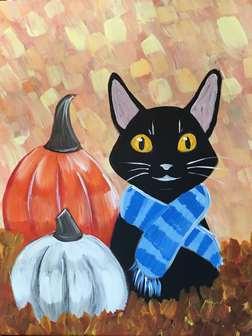 Pumpkin Kitty