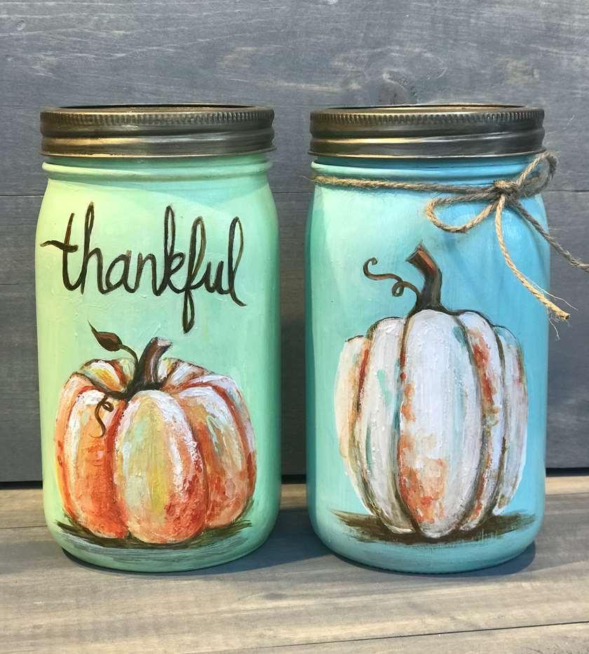 2 Large Mason Jars Included!