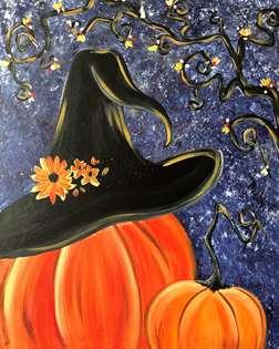 Pumpkin Witch