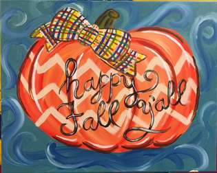 Plaid Bow Pumpkin