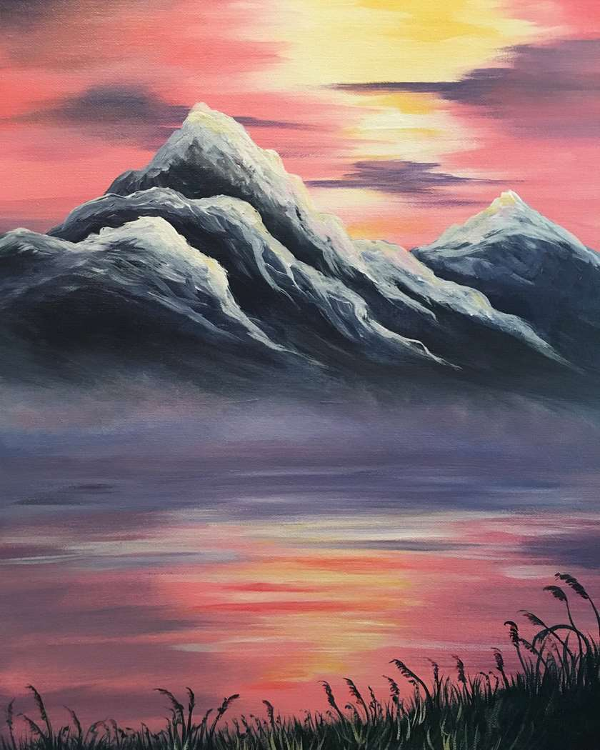 IN STUDIO CLASS: PURPLE MOUNTAINS MAJESTY - LIMITED SEATING