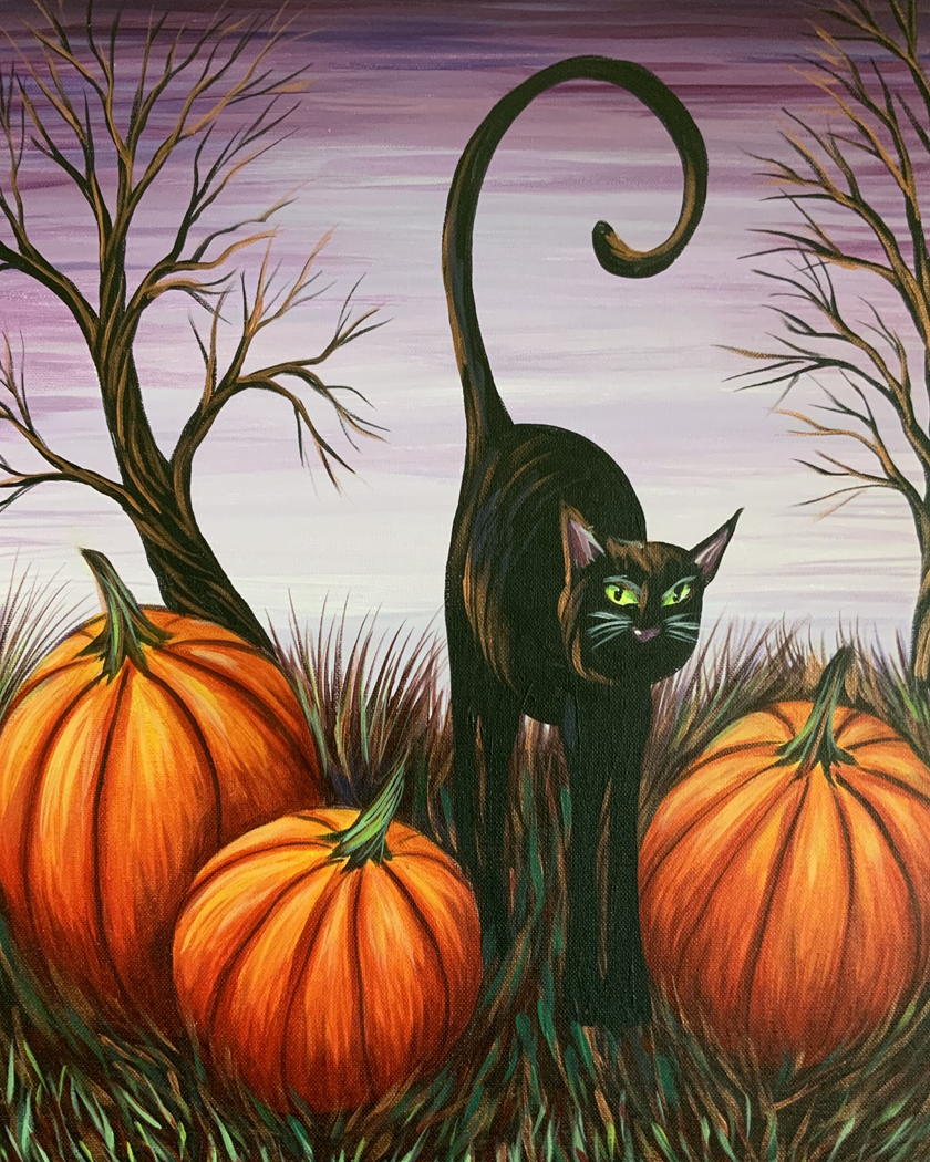 IN STUDIO CLASS: PURRFECTLY HALLOWEEN - LIMITED SEATING