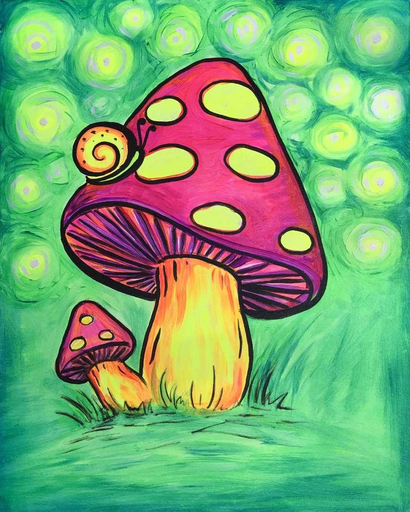 Radiant Mushroom