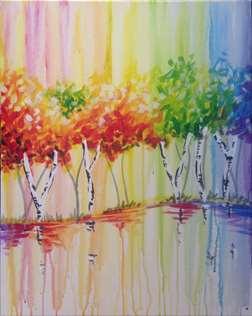 Rainbow Birch