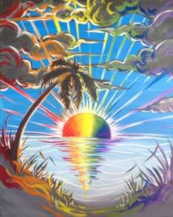 Rainbow Daybreak