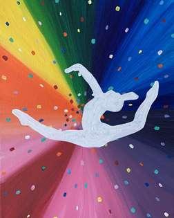 Rainbow Gymnast