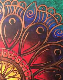 Rainbow Mandala