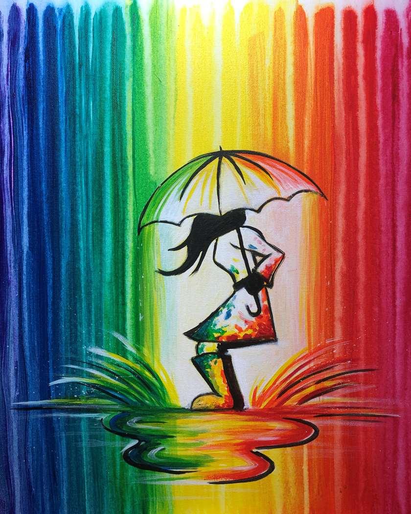 Rainbow Splash
