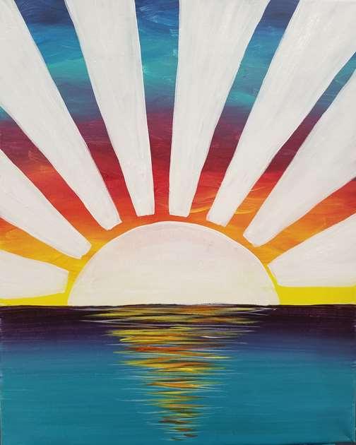 Rainbow Sunrise