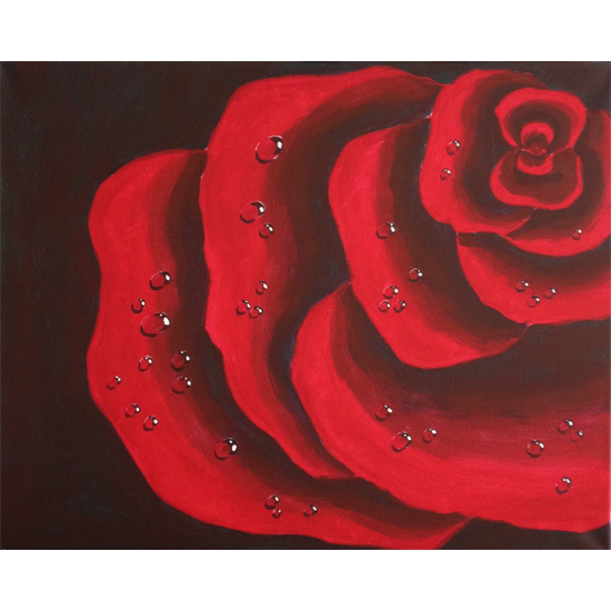 IN STUDIO CLASS: RAINDROPS ON ROSES - LIMITED SEATING