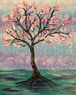 Rainy Day Blossoms