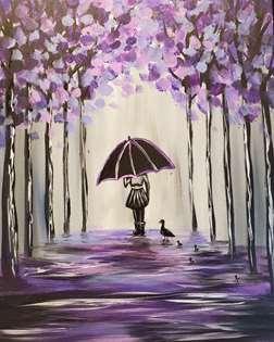 Rainy Day Ducklings