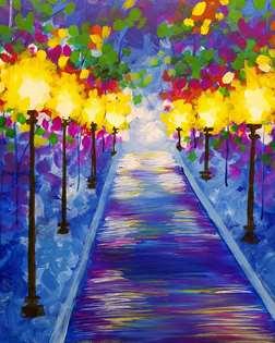 Rainy Pathway