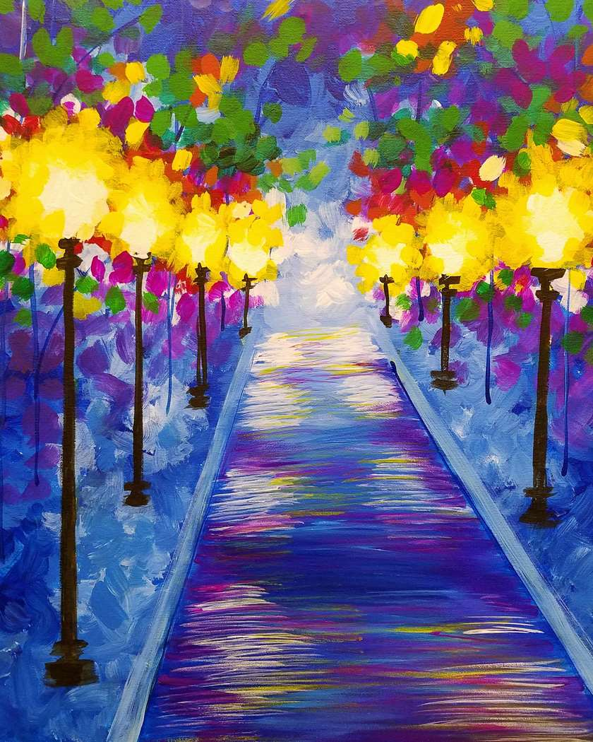 Premier! Paint & Sip video- Painting Kit Included - Watch Now or Later up to 7 days