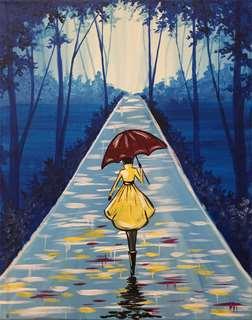 Rainy Runway