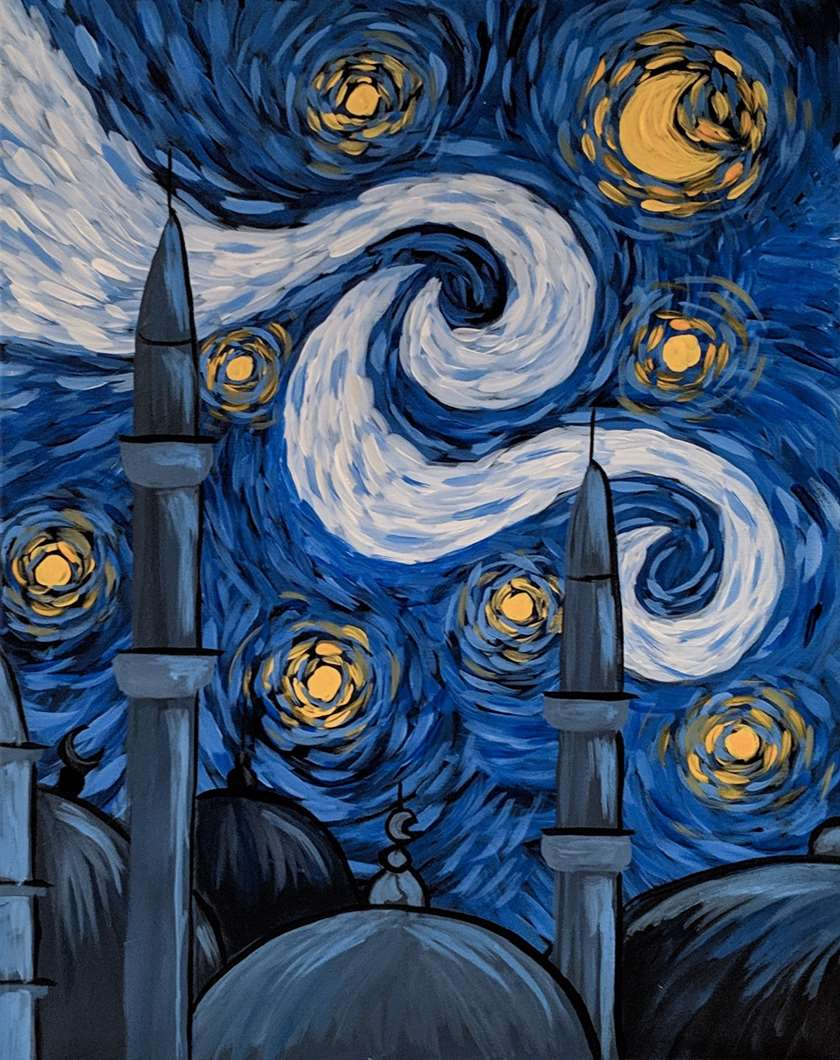 Ramadan Starry Night