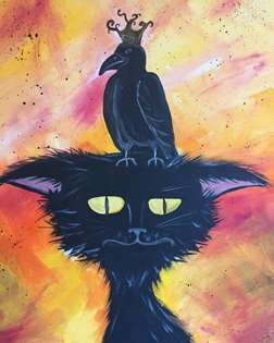 Raven King & Lenore