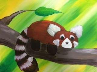 Red Panda on a Limb