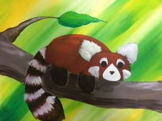 Red Panda on a Limb