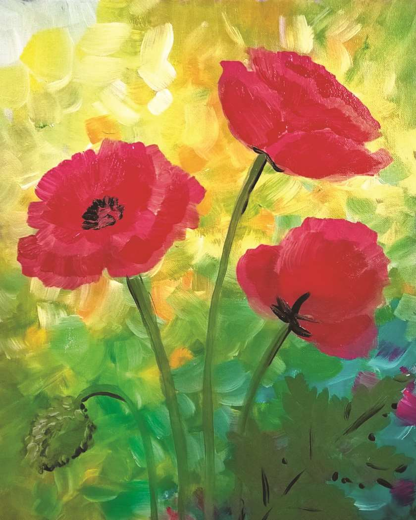 Red Poppies!