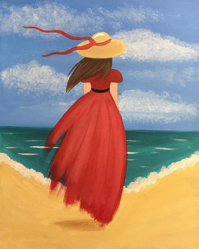 Red Sundress