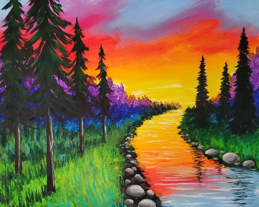 Rainbow River at Dusk