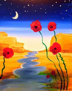 River Poppies