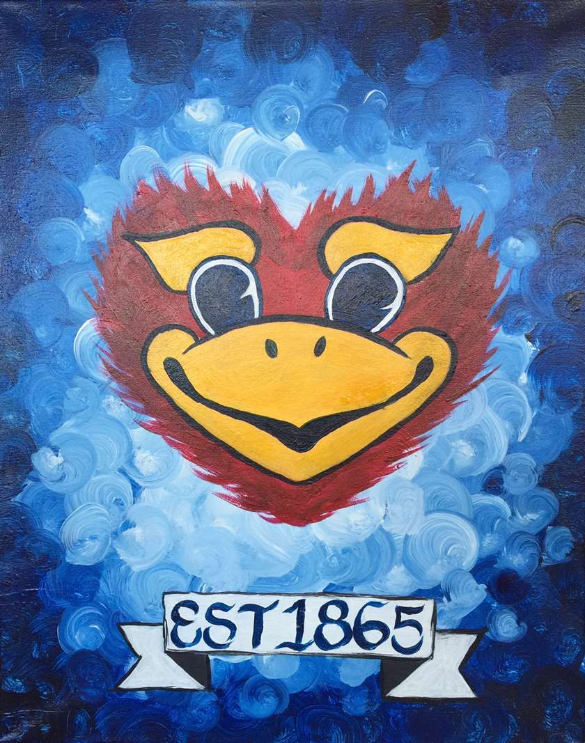 Rock Chalk Lovehawk