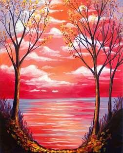 Rose Autumn Morning