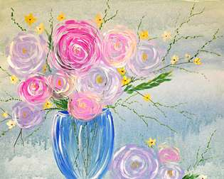 Roses en Verre