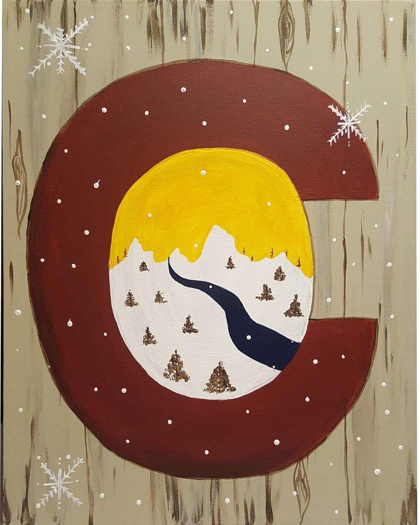 Rustic Colorado Winter