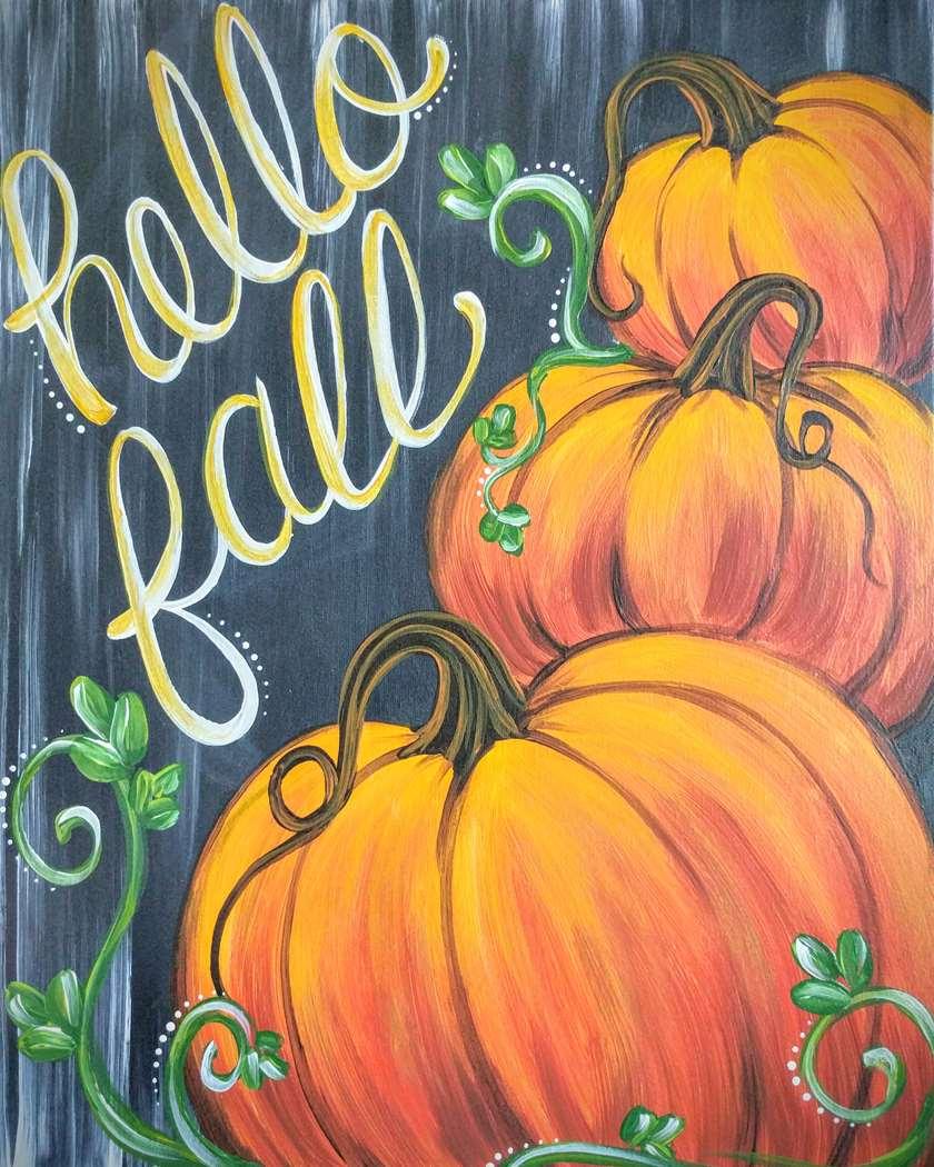 Rustic Fall Pumpkins