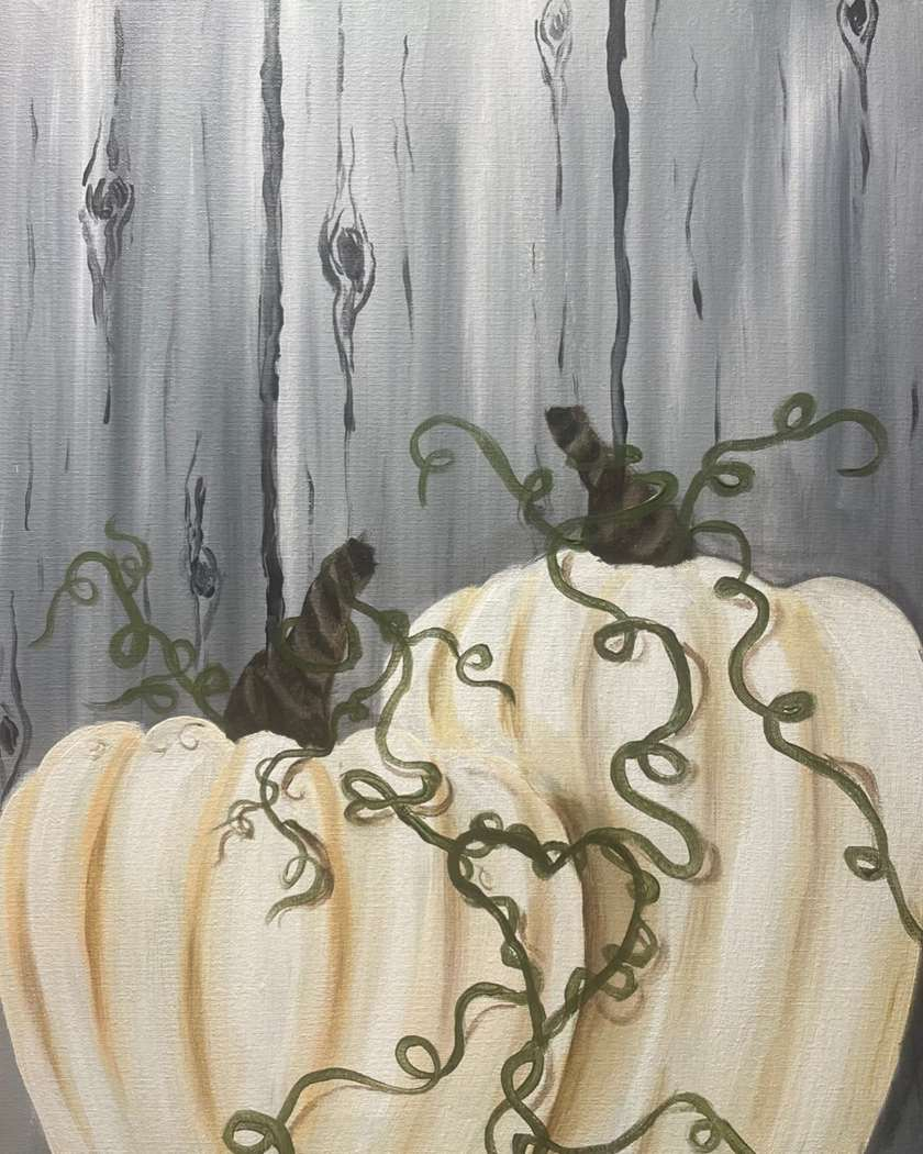 Rustic Pumpkin Love