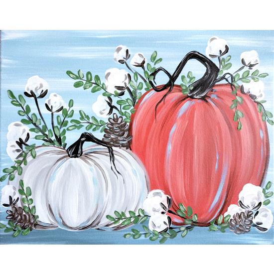 In-Studio Event: Rustic Pumpkins and Cotton
