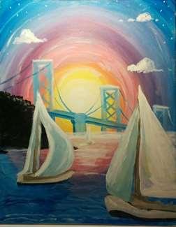 Sailing Sunset