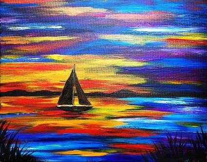 Sailing Through Indigo