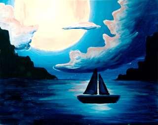 Sailing Under the Night Moon