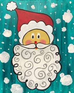 Santa in the Snow