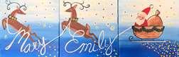 Santa's Reindeer Mini Collaborative