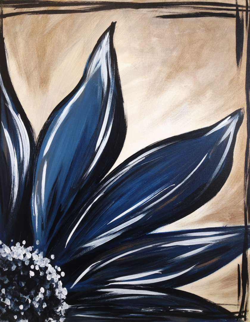 Sapphire Bloom - In Studio Event - Limited Seating Available