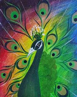 Sassy Peacock